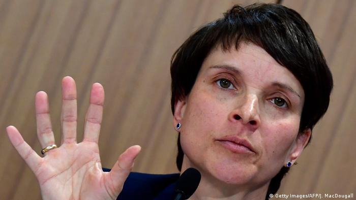 Deutschland Frauke Petry, AfD (Getty Images/AFP/J. MacDougall)