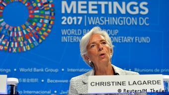 H διευθύντρια του ΔΝΤ Κριστίν Λακάρντ