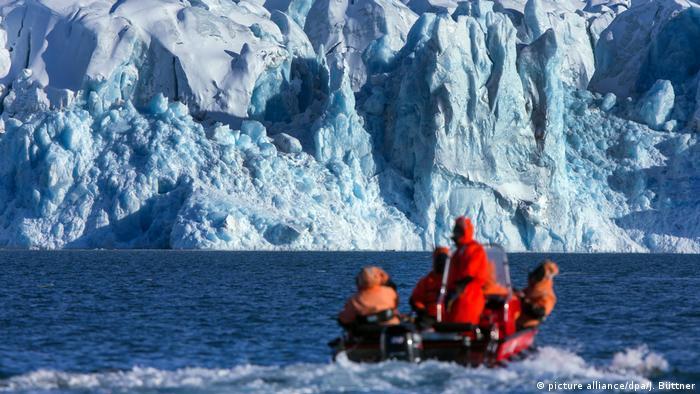 Spitzbergen - Arktisches Eis (picture alliance/dpa/J. Büttner)