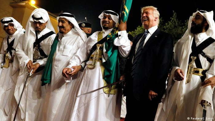 Saudi Arabia enjoys considerable support from Washington, with US President Donald Trump making it his first foreign country to visit after assuming office