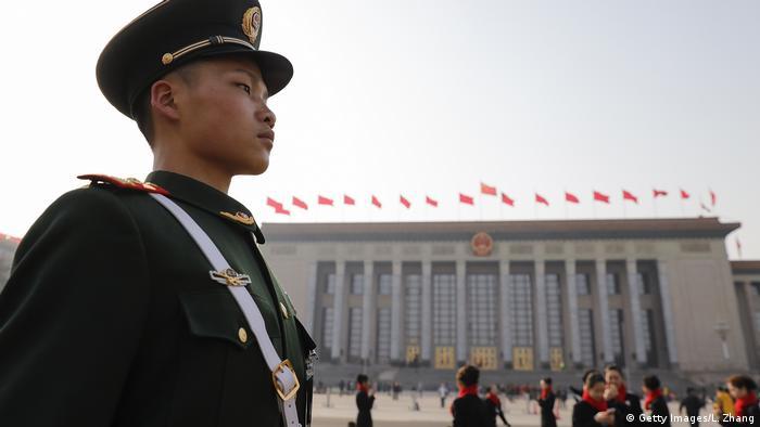 China Peking - Tiananmen Square (Getty Images/L. Zhang)