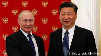 Russland Wladimir Putin empfängt Xi Jinping (Reuters/S. Chirikov)