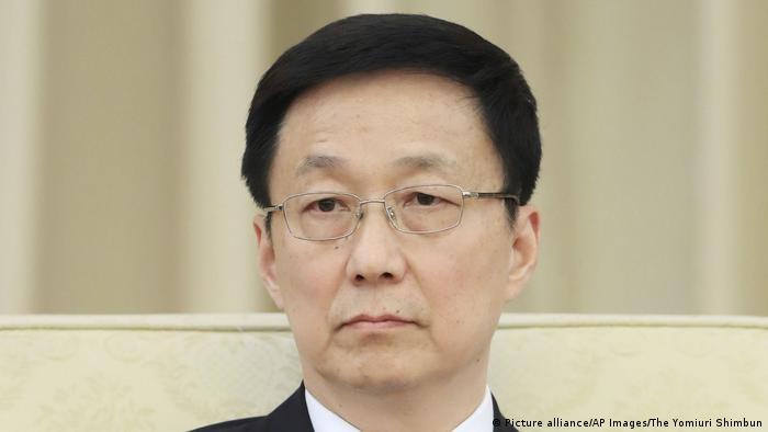 Han Zheng (Picture alliance/AP Images/The Yomiuri Shimbun)