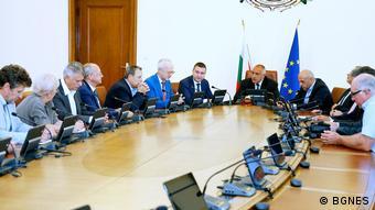 Bulgarien Premierminister Boiko Borissov
