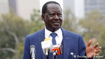 Kenia Raila Odinga PK in Nairobi (Reuters/B. Ratner)