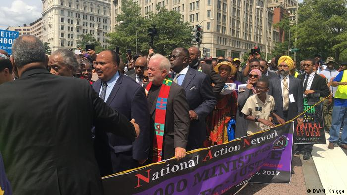 USA Ministers March for Justice in Washington (DW/M. Knigge)