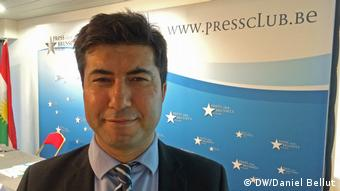 Brüssel / Press Club Brussels Kahraman Evsen (DW/Daniel Bellut)