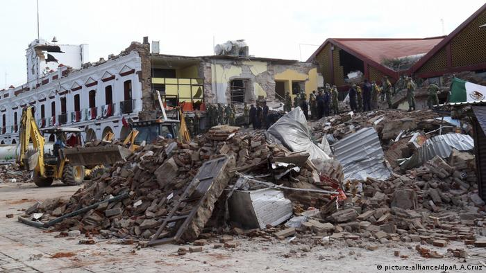 The earthquake has been described as one of the strongest felt by Mexico in nearly a century