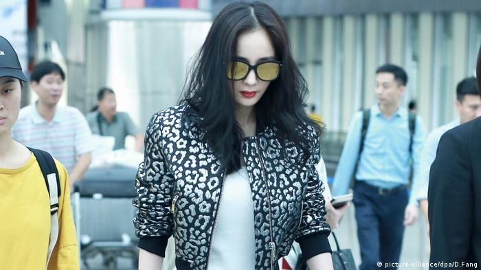New York Fashion Week Yang Mi (picture-alliance/dpa/D.Fang)
