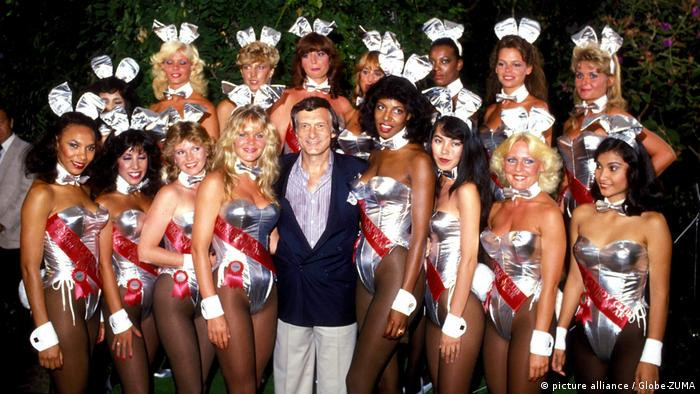 Hugh Hefner Gründer Playboy Magazin Bunnies (picture alliance / Globe-ZUMA)