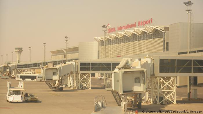 Irak Erbil International Airport in irakische Kurdistan (picture-alliance/dpa/Sputnik/V. Sergeev)