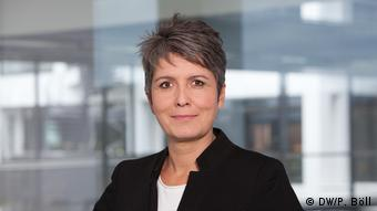 Ines Pohl Kommentarbild App (DW/P. Böll)