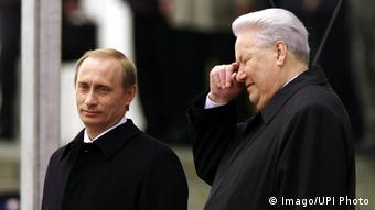 Putin and Yeltsin in 2000 (Imago/UPI Photo)