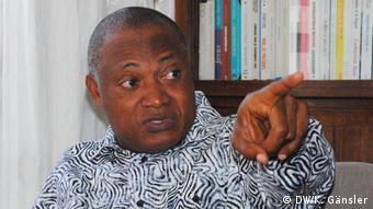 Togo Oppositionsführer Jean-Pierre Fabre (DW/K. Gänsler)