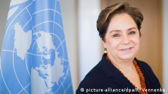 H Πατρίσια Εσπινόζα, γενική γραμματέας του ΟΗΕ για το κλίμα.