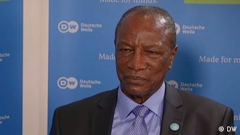 Bonn Staatspräsident Guinea Alpha Conde (DW)