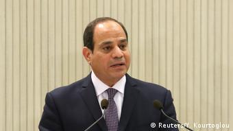Griechenland Ägyptischer Präsident Al-Sisi (Reuters/Y. Kourtoglou)