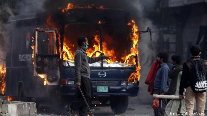 Pakistan protest (picture-alliance/abaca)