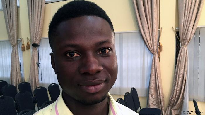 Enoch Yeboah wanted to go to Europe