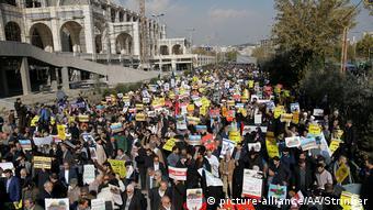 Iran Proteste in Teheran gegen Anerkennung Jerusalems als Israels Hauptstadt (picture-alliance/AA/Stringer)