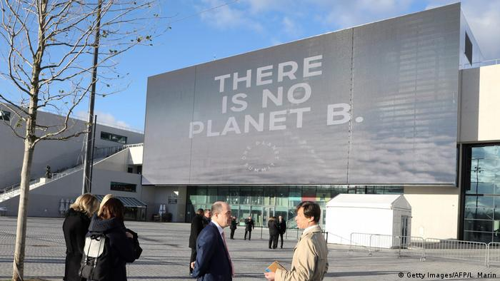 Frankreich One Planet Summit in Paris Austragungsort (Getty Images/AFP/L. Marin)