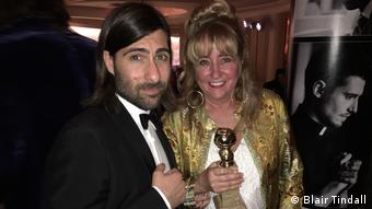 Blair Tindall and Jason Schwartzman (Blair Tindall)