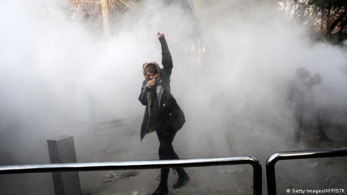 Iran Proteste gegen Regierung in Teheran (Getty Images/AFP/STR)