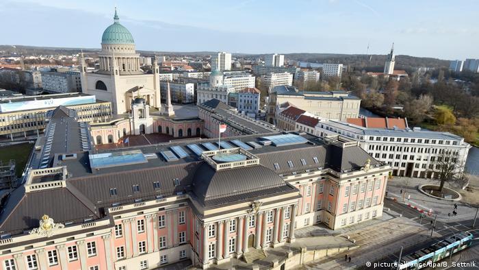 Germany, panoramic view of Potsdam city center (picture-alliance / dpa / B. Settnik)