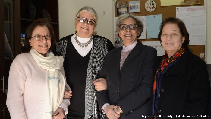 Founders of the Nadeem Center for torture victims in Cairo, Egypt (picture-alliance/dpa/Polaris Image/D. Smilie)