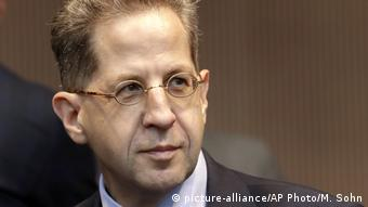 BfV head Hans-Georg Maassen (picture-alliance/AP Photo/M. Sohn)