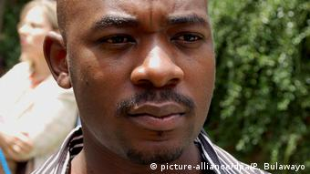 Close up photo of Chamisa's face