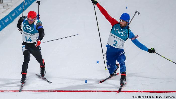 Photo finish in the Biathlon