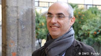 Italien Wahlen - Neapel - Michele Mosca, Ökonom und Professor an der Universität Neapel (DW/D. Pundy)