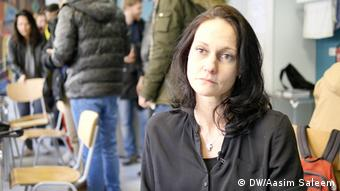 نیکل تسویتسا مدیر دفتر مشاوره ایدز برای پناهجویان در تسیرندورف