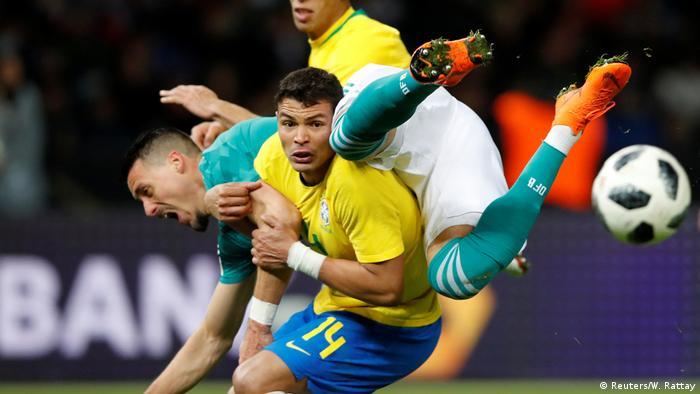 Brasil venceu Alemanha por 1 a 0 no amistoso de 27/03/2018