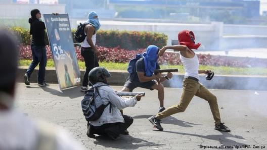 Image score for Nicaraguan President Cancel's Pension Plan Changes to End Deadly Protests