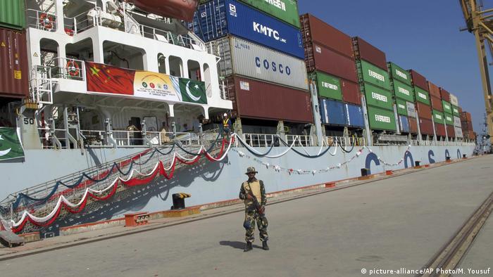 Gwadar port in Pakistan (picture-alliance/AP Photo/M. Yousuf)