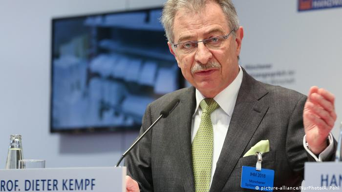 Dieter Kempf (picture-alliance / NurPhoto / A. Pohl)