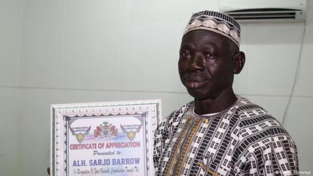 Sarjo Barrow, gambischer Journalist (DW/F. Muvunyi)