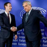 Facebook's Mark Zuckerberg faces EU Parliament over data scandal