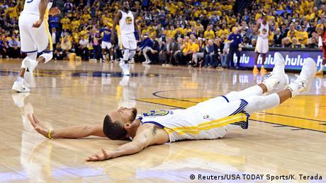 5. Bildergalerie Sportfoto Mai 2018 Stephen Curry von Golden State Warriors (Reuters / USA TODAY Sports / K. Terada)
