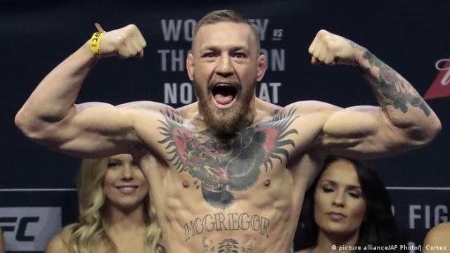 Connor McGregor (picture alliance / AP Photo / J Cortez)