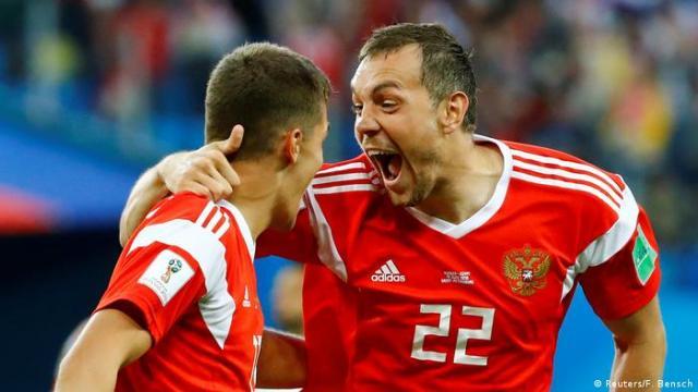 Russland WM 2018 Russland gegen gygypten (Reuters / F. Bensch)