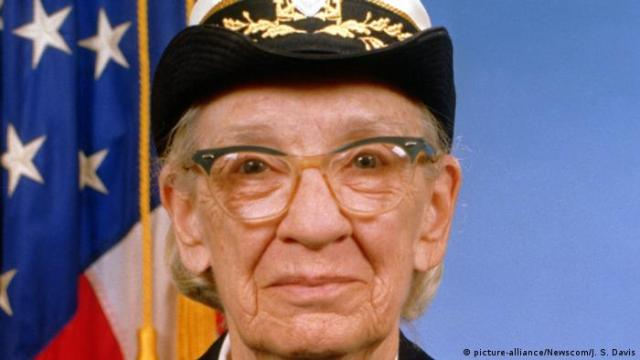 Grace Murray Hopper (picture-alliance / Newscom / J S. Davis)
