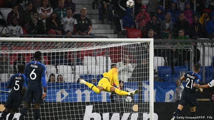 Fußball Nations League München Deutschland vs Frankreich (Getty Images/AFP/F. Fife)