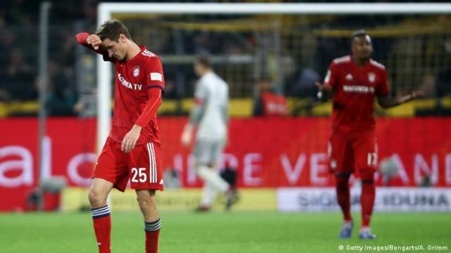 Fußball Thomas Müller Borussia Dortmund v FC Bayern Muenchen - Bundesliga (Getty Images / Bongarts / A. Grimm)