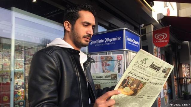Deutschland Arabische Schrift in Bonn (- / S. Samir)