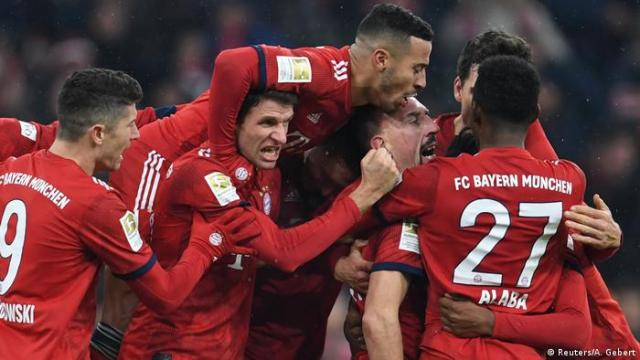 Fußball Bundesliga - FC Bayern München - RB Leipzig (Reuters / A. Gebert)