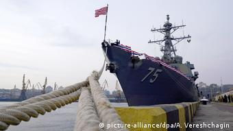 USS Donald Cook in Odessa, Ukraine (picture-alliance/dpa/A. Vereshchagin)