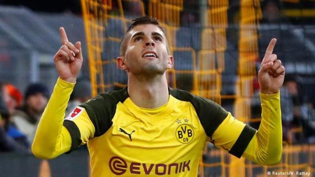 Bundesliga Borussia Dortmund v VfB Stuttgart   Jubel Pulisic (Reuters / W. Rattay)